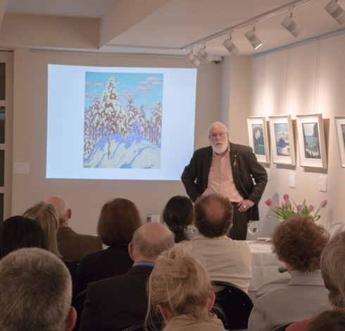Video: Charles C. Hill presentation on Lawren Harris