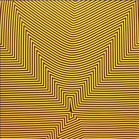 Marcel Barbeau (1925-2016), Rétine, achale-moé pas, 1966, acrylic on canvas, 121.9 x 121.9 cm., National Gallery of Canada.