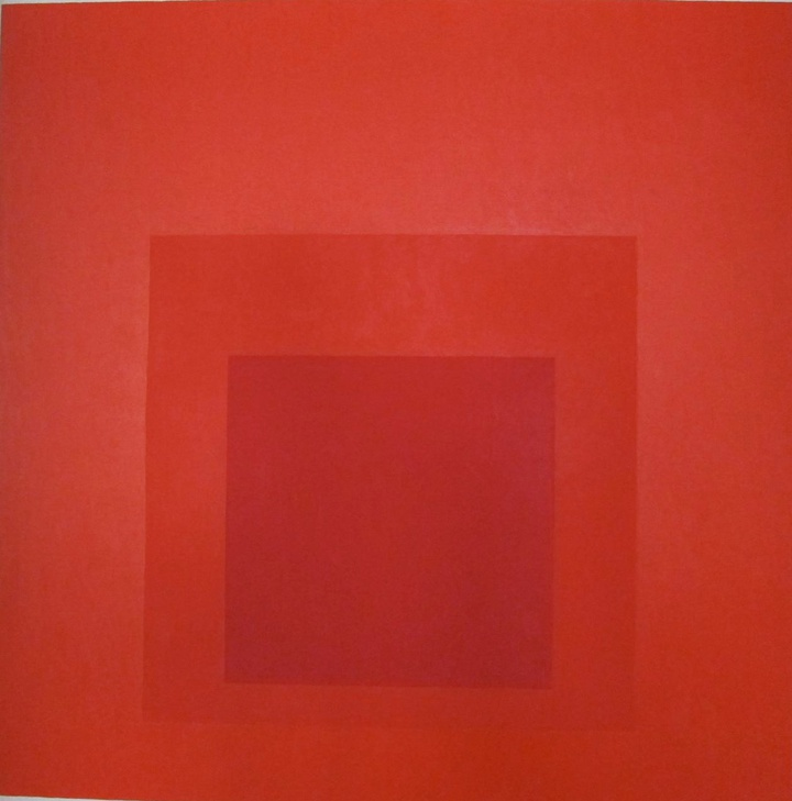 JOSEF ALBERS  Homage to the Square: Distant Alarm, 1966