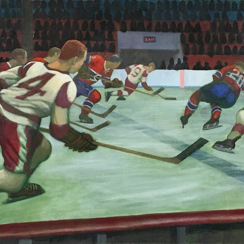 <b>Fine Art & Hockey: A Point of View</b>-