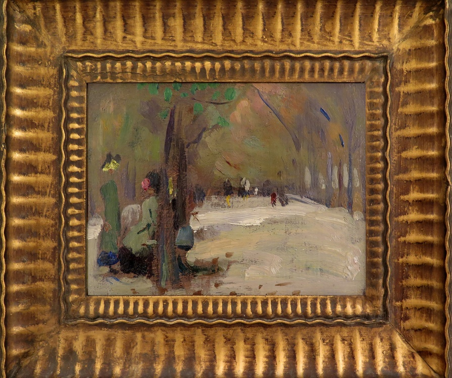 "Emily Coonan (1885-1917) ""Sketch"" (Probably Paris)  Framed View"