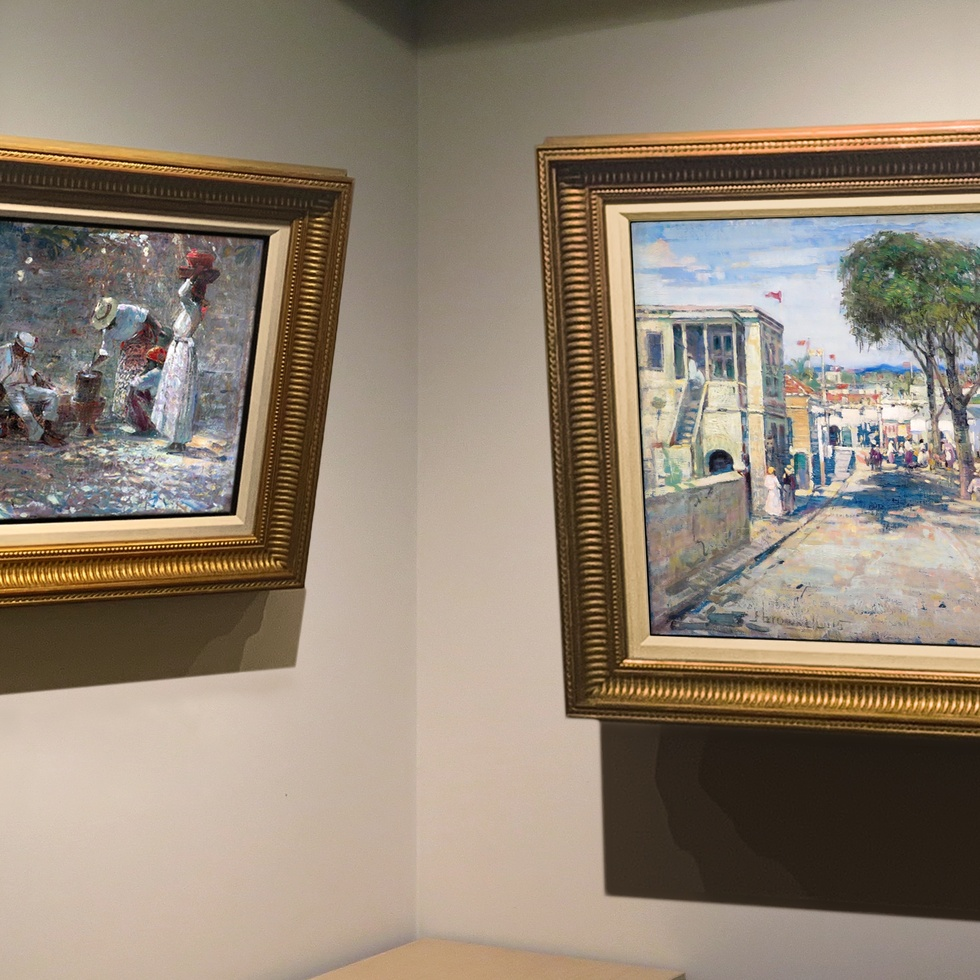 "Two Caribbean Scenes by Brownell are ""Rare Treasures of Their Kind"" -"