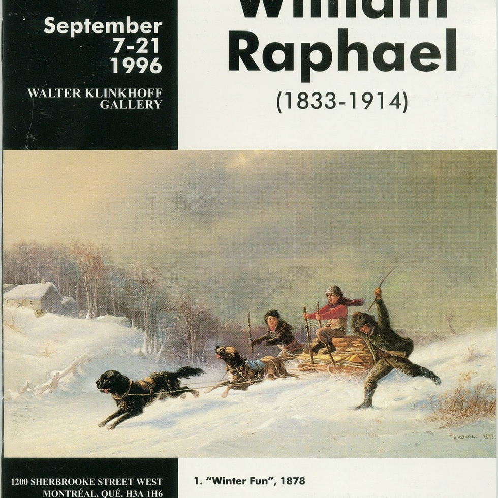 William Raphael R.C.A. (1833-1914) Retrospective Exhibition