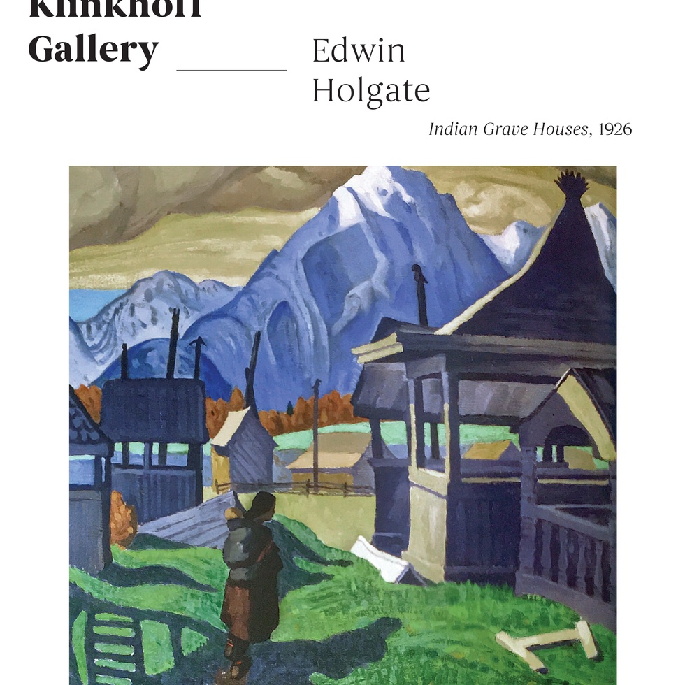 "Edwin Holgate's ""Indian Grave Houses"""
