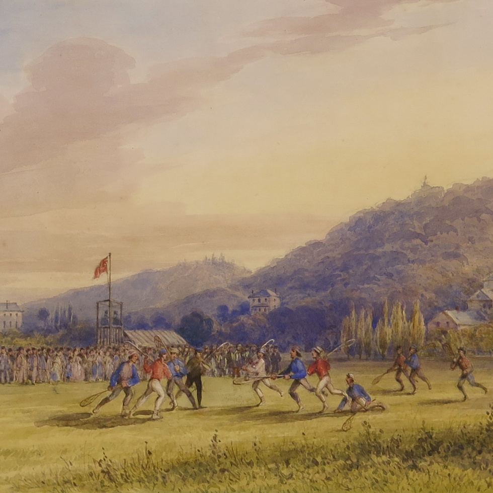Duncan Watercolour: An Important Snapshot of 19th Century Canada